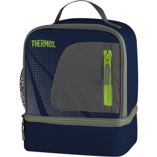 Thermos Radiance Dual Lunch Kit Navy