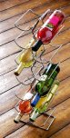 Premier Chrome Wire 6 Tier 12 Bottle Slim Line Wine Rack