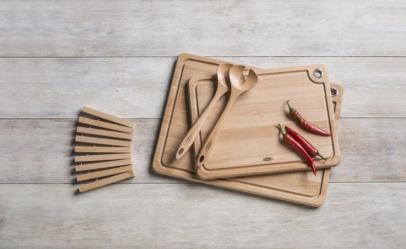 Stellar Beech Woodware Butchers Block 40 x 26 x 4cm