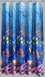 Aqualona Polyester Shower Curtain 180x180cm Seaworld