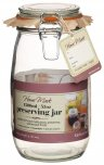Home Made Traditional Glass Preserving Jar 1500ml (53oz)